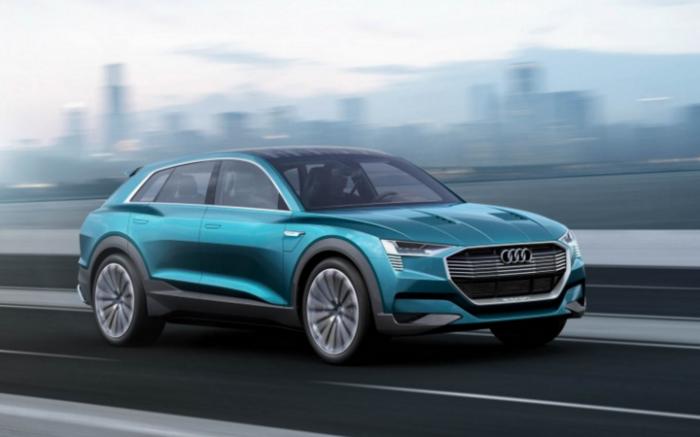 Электрочудо от Audi