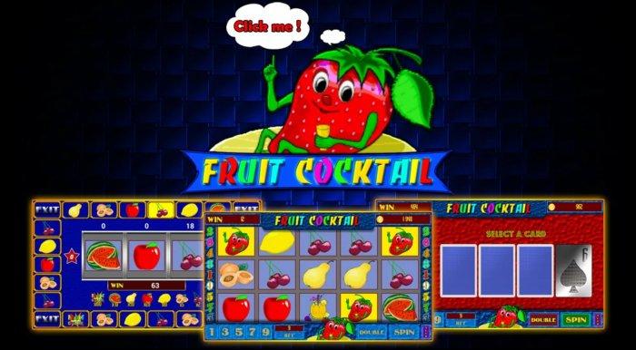 Как играть в автомат Fruit Cocktail в казино Вулкан онлайн