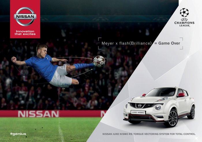 Следующая глава в истории успеха Nissan X-Trail начинается в финале Лиги чемпионов УЕФА