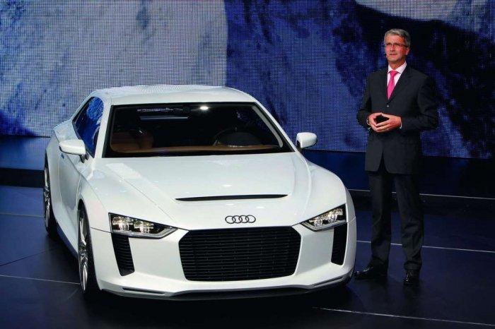 Audi на Женевском международном автосалоне - спортивные перспективы